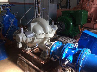 Thompson Split Case horizontal pump repair