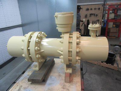 Hermetic ammonia pump repair
