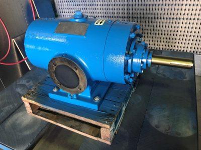 RO FLO Sliding Vane Compressor - methane gas