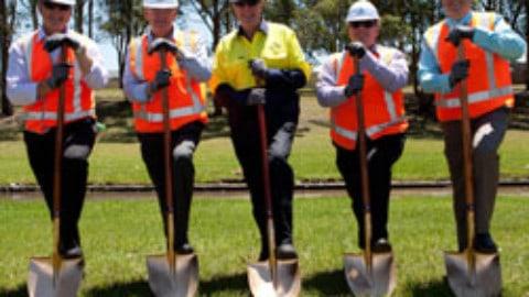 Work starts on Logan's largest wastewater network upgrade