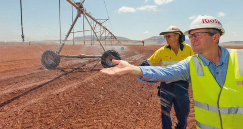 Pilbara agricultural project highlights innovative water use