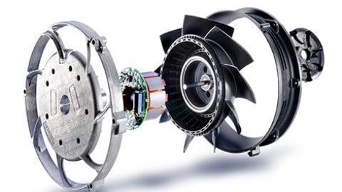 Fans in industrial applications