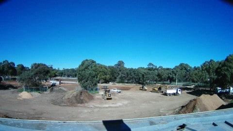 Oaklands Wetland nears completion