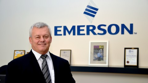 New General Manager for Emerson Process Management
