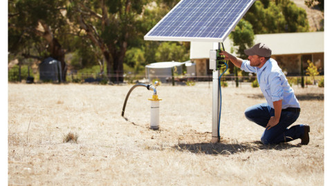 Solar powered pumping solution