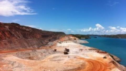 New pump pontoon for WA open pit mine