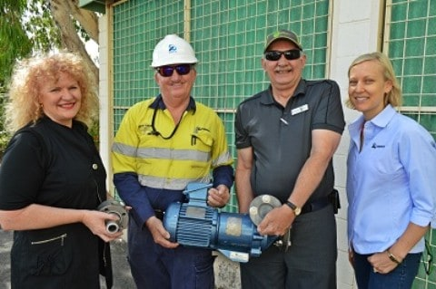 Pump donation to train future workers