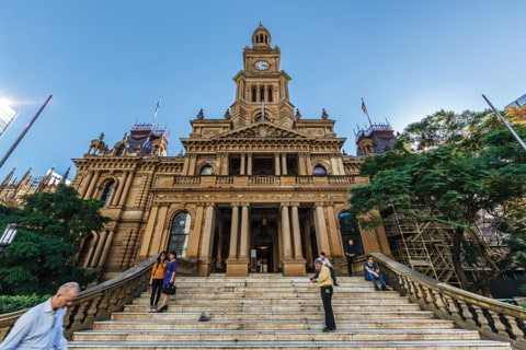 Sydney Town Hall powers up with trigeneration