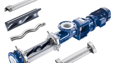 Progressive cavity pumps in the wastewater and sludge treatment industry