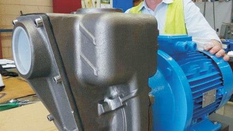 Corrosive liquid pump