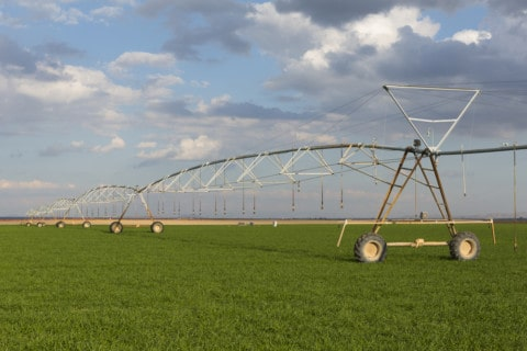 Private irrigation infrastructure under way in Wah Wah
