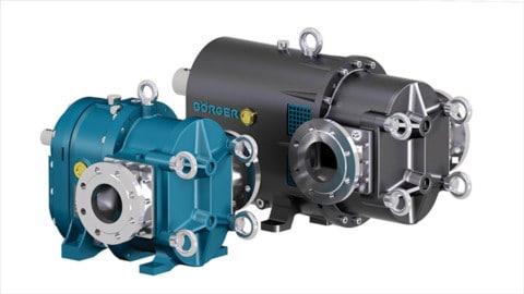 ONIXline Rotary Lobe Pump for conveying demanding medium