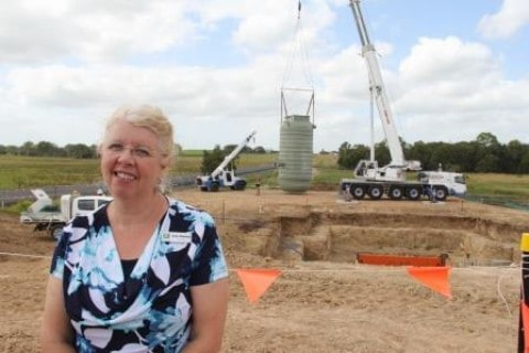 Construction begins on QLD sewage pumping station
