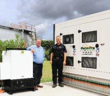 New generator to power water pump station