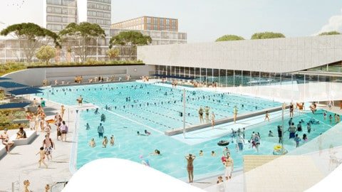 Contract for new aquatic centre in Sydney