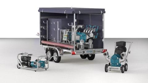 Each mobile pump is unique