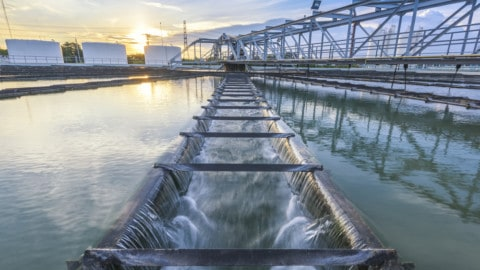 Four new water treatments plants for Tasmania