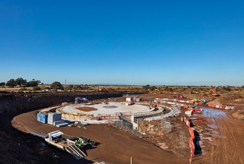 An innovative sewage solution to service Melbourne's growing north
