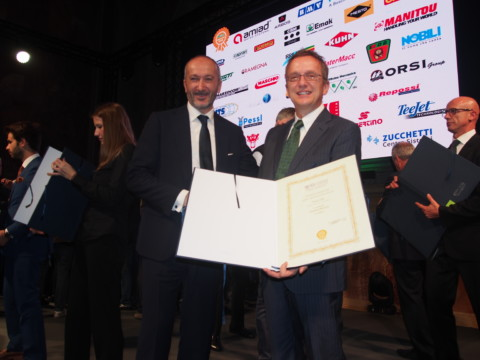 Caprari's innovation recognised at EIMA International