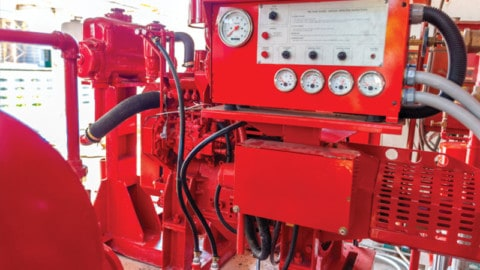 Battery failure risks in fire pumps