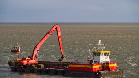Tender: port seabed levelling works