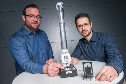 German researchers develop motorless pumps and self-regulating valves