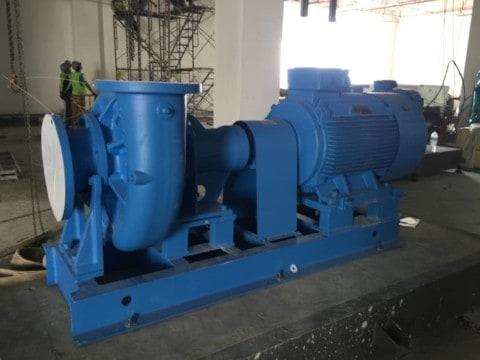 Tender: vacuum pump replacement