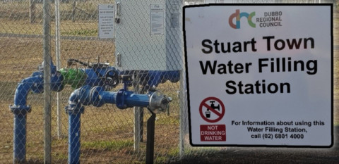 New bore increases non-potable water access for NSW town