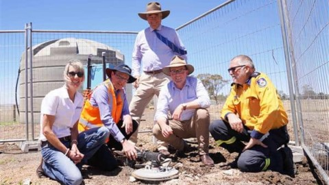 New airport bore supports NSW firefighting