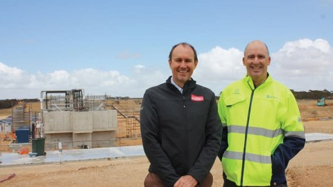 Upgrading and relocating Murray Bridge's wastewater services