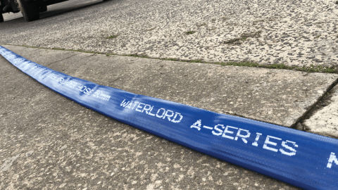 Flexible layflat hose solution brings water to remote mine site