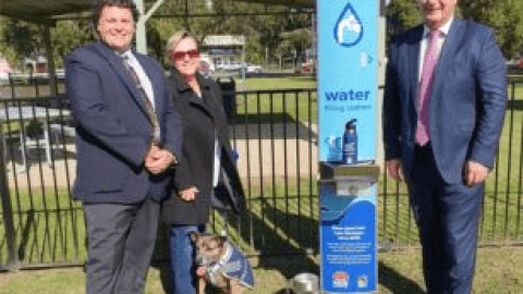Murrurundi water pipeline opening provides water restrictions relief