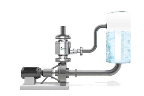 The automatic recirculation check valve