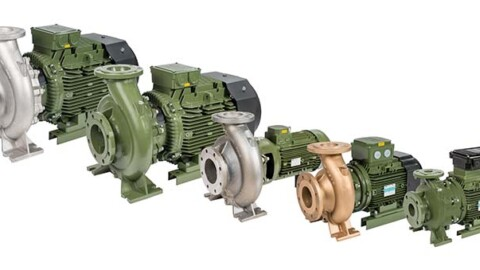 Solutions for HVAC: in-line and close-coupled SAER pumps