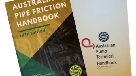 Australian Pipe Friction and Pump Technical Handbooks: vital resources for pump professionals
