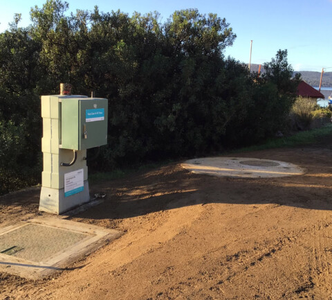 Sewage pump station upgrade improves reliability in Cygnet