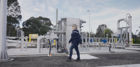Gippsland Water's outfall sewer pump station complete